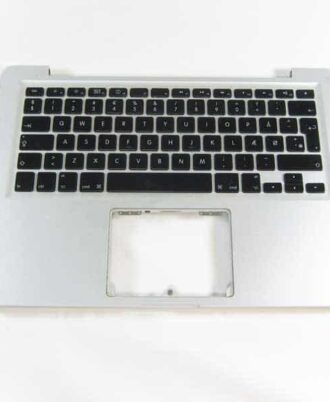 "Top case uden backlight - Grade-B (MacBook 13"" Unibody Late 2008)-389"