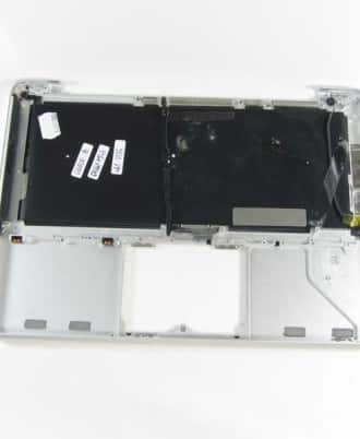 "Top case uden backlight - Grade-B (MacBook 13"" Unibody Late 2008)-390"