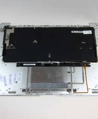 """Top case med DK tastatur og trackpad - Grade-B (MacBook Air 13"""" Early 2008)-588"""