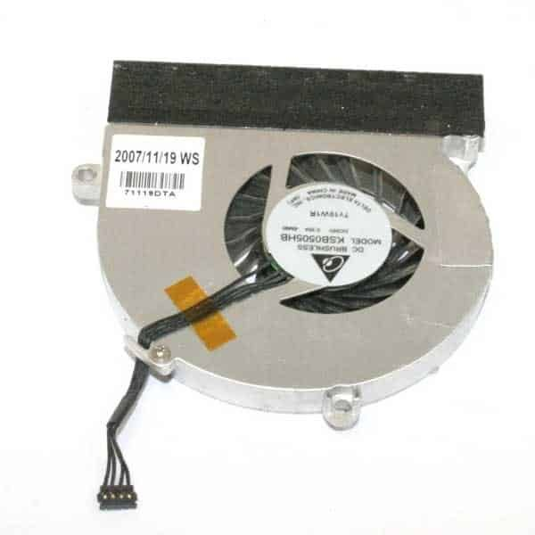 """CPU blæser - Genbrugt (MacBook 13"""" Black/White late 2007/Early 2008/Early 2009/Mid 2009)-606"""