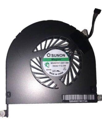 """CPU blæser venstre side - Genbrugt (MacBook Pro 17"""" Unibody Early 2009/Mid 2009)-1239"""