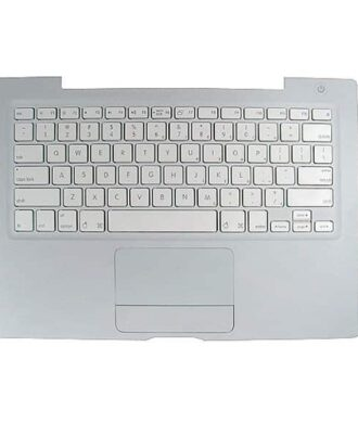 "Top case med US tastatur layout (1.83/2.0/2.16GHz) - Grade-A (MacBook 13"" Black/White Late 2006/Mid 2007)-1245"