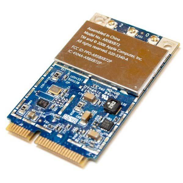 """AirPort printkort - Genbrugt (MacBook 13"""" og MacBook Pro 15"""" og 17"""" Late 2006/Mid 2007)-1830"""